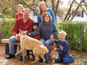 Julie's family 2012