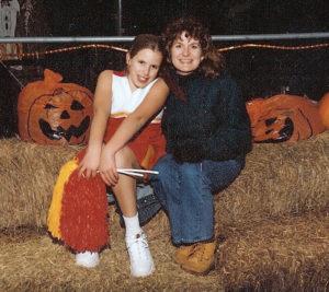 Julie & daughter 2000