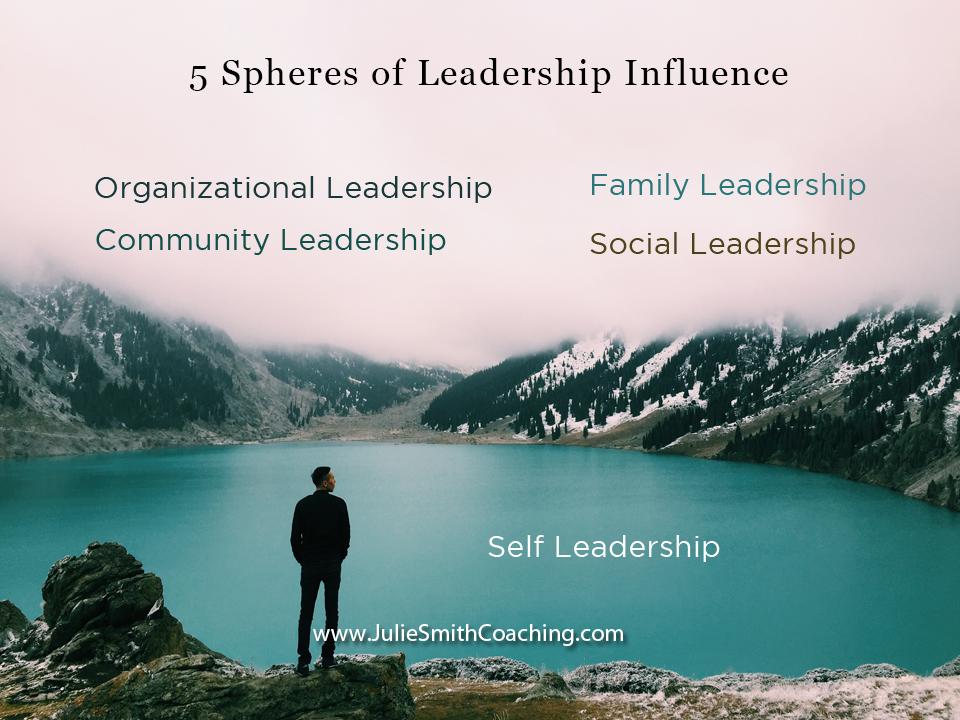 5 Spheres of Leadership Influence
