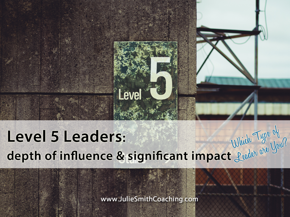 5 Levels of Leadership Growth