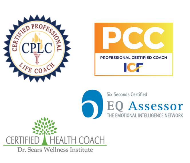 Associate Certified Coach, Certified Life Coach, Certified Health Coach