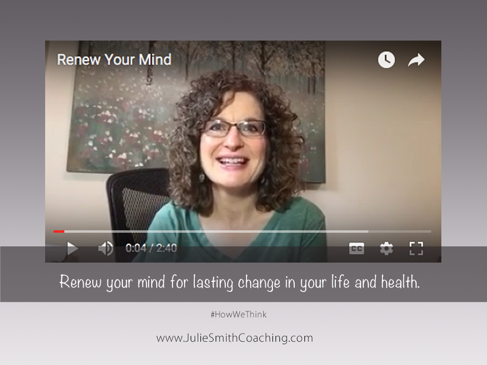Renew Your Mind for Lasting Change