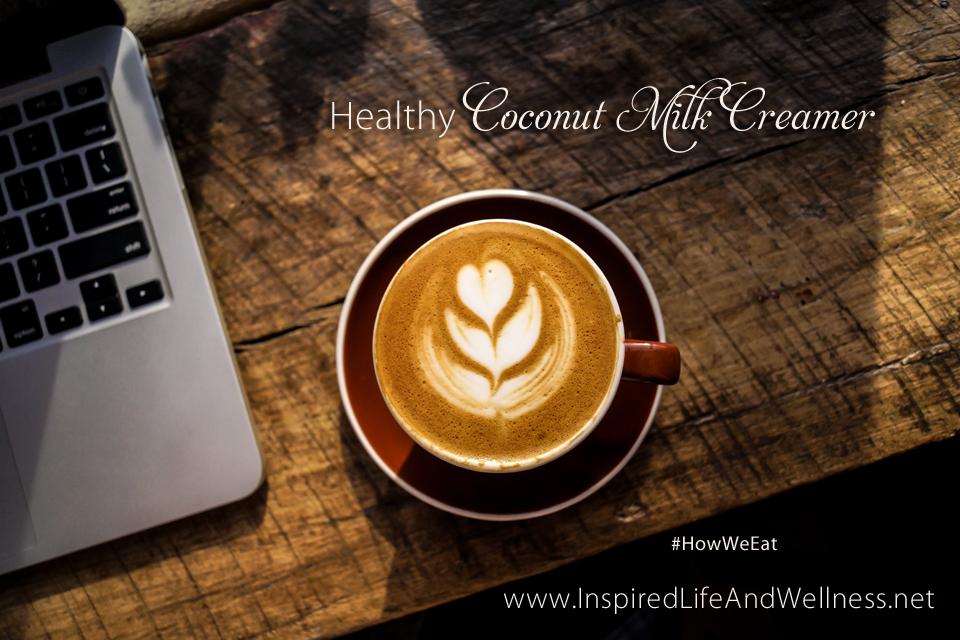 Healthy Coconut Milk Coffee Creamer