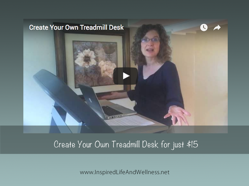 Create Your Own Treadmill Desk