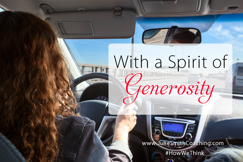 With a Spirit of Generosity